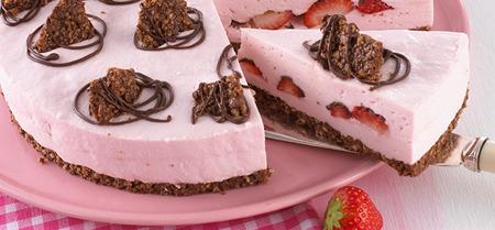 Rezept Philadelphia Balance Torte Erdbeer-Knusper