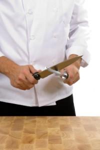Wie schärft und schleift man stumpfe Messer richtig?