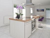 Höhe der Arbeitsplatte der Kücheneinrichtung bestimmen