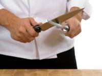 Stumpfe Messer schärfen und schleifen