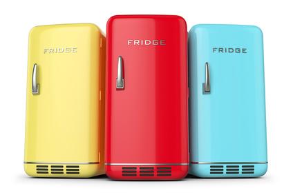 Wieso ist der Retro Kühlschrank so beliebt?